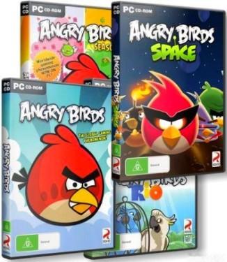 Angry Bird: The Anthology - Сборник из пяти игр (2012/Eng)