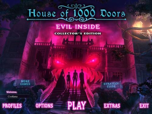 Дом 1000 дверей: Зло внутри / House of 1000 Doors 4: Evil Inside (2015/Rus) - коллекционное издание