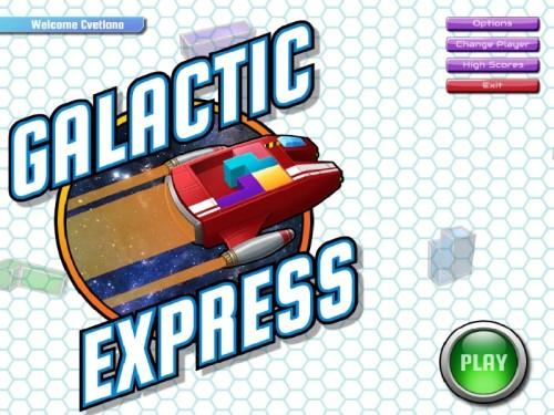 Galactic Express  - полная английская версия