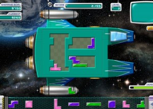 Galactic Express, паззлы, тетрисы
