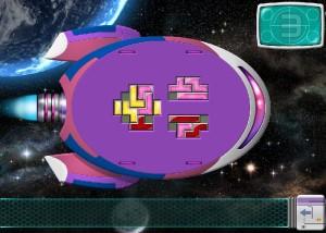 Galactic Express, сыграй в тетрис