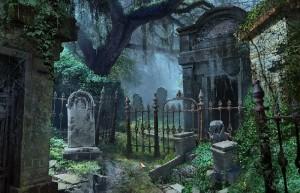 За семью печатями: 13-ый череп, городское кладбище
