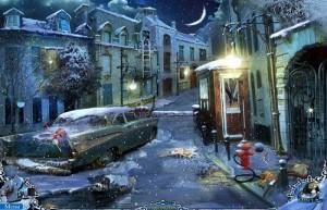 Охотники за тайнами 2: Рейнклифф, разбитая машина, заснеженная улица