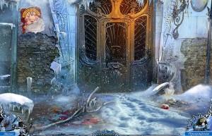 Охотники за тайнами 2: Рейнклифф, закрытая дверь, снег