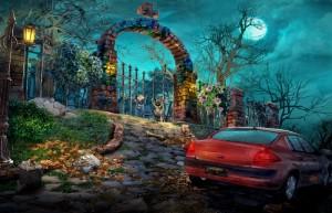 Жестокие игры: Красная Шапочка, ворота кладбища, красная машина
