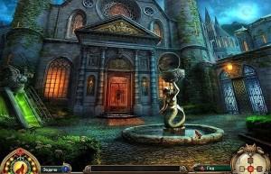 Темные притчи: Сестры Красной Шапочки, старый замок, фонтан во дворе