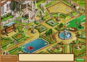 Дивный сад 2: Академия ремонта, особняк - вид сверху