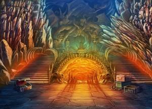Зловещие Истории: Сага Тьмы, таинственная пещера