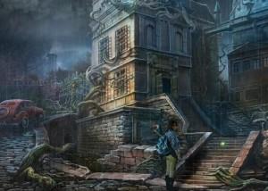 Зловещие Истории: Сага Тьмы, заброшенный дом