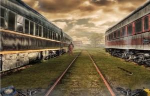 Заражение: Вакцина для двоих, поезда, вагонное депо