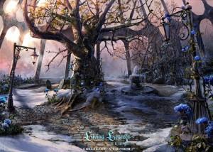 Живые легенды: Ледяная роза, старое дерево, синие цветы