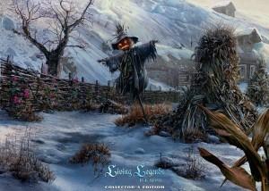 Живые легенды: Ледяная роза, пугало в огороде