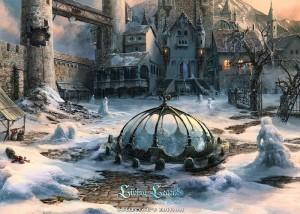 Живые легенды: Ледяная роза, разрушенный замок, двор замка