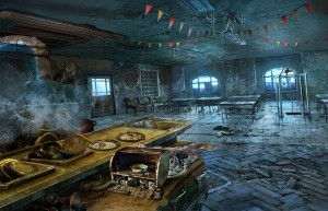Темный Лабиринт: Река Салливан, заброшенное кафе, флажки