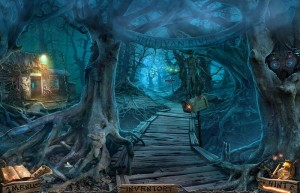 Темный Лабиринт: Река Салливан, старые деревья, корни деревьев