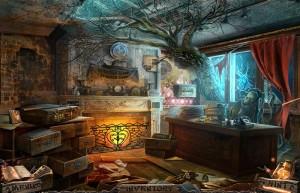 Темный Лабиринт: Река Салливан, разрушенный кабинет, горящий камин