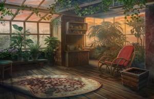 Сумрачное явление: Постояльцы дома № 13, уютная веранда, кресло