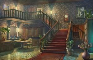 Сумрачное явление: Постояльцы дома № 13, лестница на второй этаж