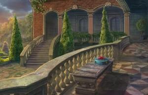 Сумрачное явление: Постояльцы дома № 13, внутренний двор, лестница, променад