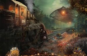 Паутина Лжи: Чёрная вдова, старинный поезд