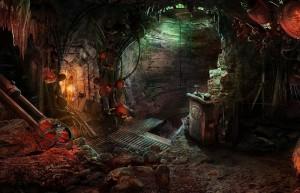Паутина Лжи: Чёрная вдова, подземелье