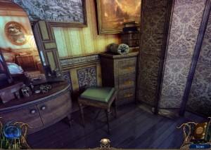 Алхимики : Темная Прага, спальня, ширма, туалетный столик
