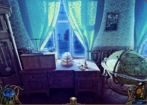 Алхимики : Темная Прага, письменный сто, большой глобус