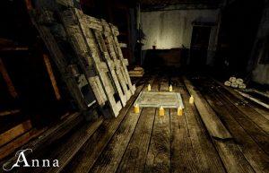 свечи на деревянном полу
