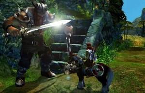 King's Bounty: Воин Севера, великан с мечом, всадник на коне