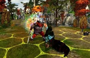 King's Bounty: Воин Севера, битва, сражение