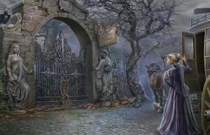 Охотники на ведьм: Украденная красота, ворота замка, карета