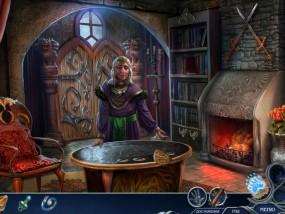 Темный мир 2: Владычица льда, помощница королевы, камин
