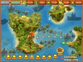Императорский остров 2: Поиски новой земли, карта уровней