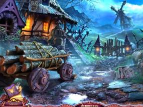 Лига Света 2: Нечестивый урожай, городская окраина, старая мельница, телега с дровами