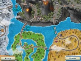 Отважные спасатели 5, карта уровней
