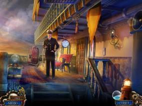 Море лжи 4: Поток предательства, палуба корабля, старший офицер