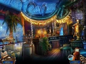 Море лжи 4: Поток предательства, корабельный бар, мужчина за игрой
