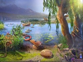 Нашептанные Секреты 3: Сквозь ветер, берег реки, тонущий человек