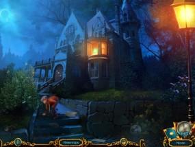 Химеры 2: Знаки пророчества, мальчишка ищет статуэтку, особняк в полумраке, горящие фонари