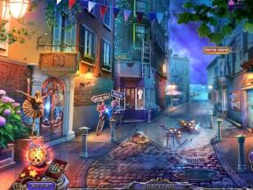 Темные измерения 6: Пируэты Теней, освещенная городская улица, балетная школа