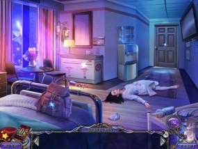 Темные измерения 6: Пируэты Теней, больничная палата, медсестра в обмороке, рюкзак
