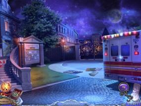 Темные измерения 6: Пируэты Теней, больничный двор, машина скорой помощи