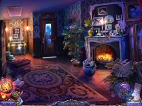 Темные измерения 6: Пируэты Теней, гостиная в доме, горящий камин
