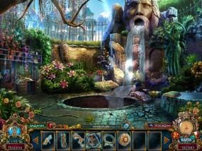 Темные притчи 9: Королева песков, зимний сад, водопад в саду, цветущие кусты
