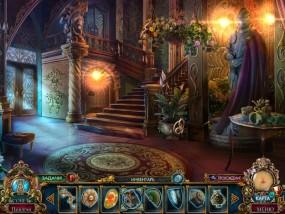 Темные притчи 9: Королева песков, холл во дворце, рыцарские латы