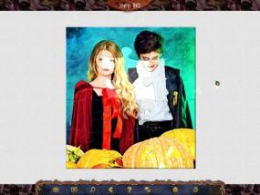 Праздничный Паззл: Хэллоуин, тыквы, костюмы на хэллоуин