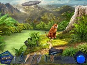 Вторжение: Затерянные во времени, древняя земля, саблезубый тигр