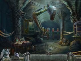 Кладбище искупления 7: Хронометр Судьбы, экскаватор в метро, заброшенная станция метро