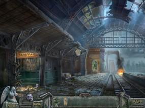 Кладбище искупления 7: Хронометр Судьбы, разрушенная станция вокзала, железная дорога