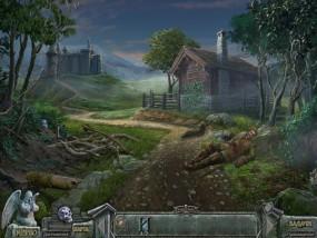 Кладбище искупления 7: Хронометр Судьбы, дорога перед замком, охотничий домик, раненный солдат